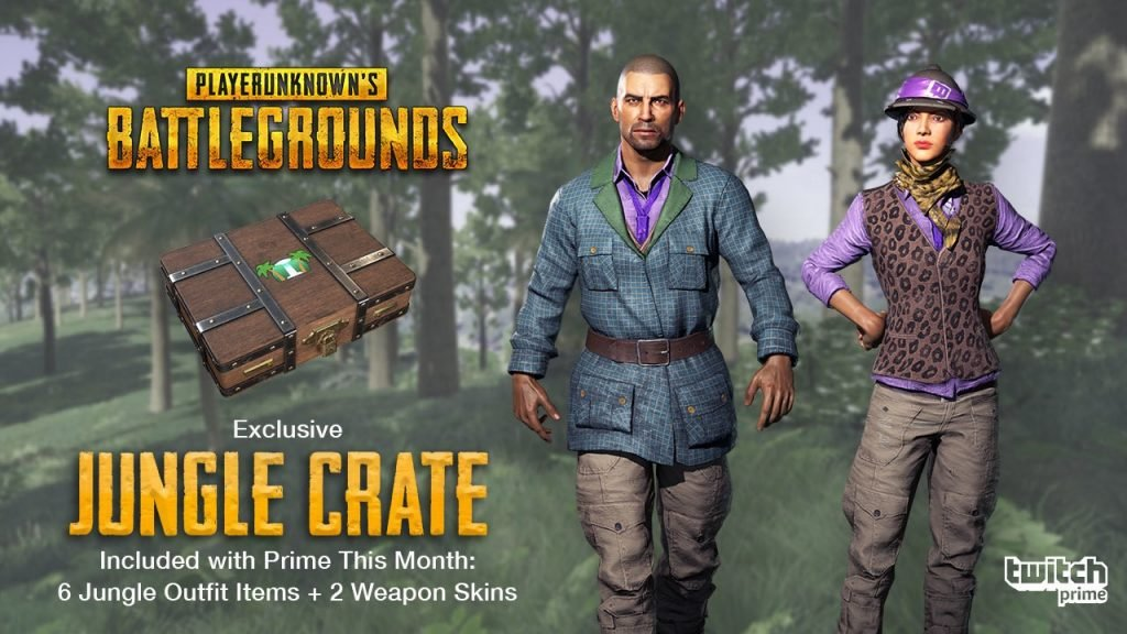 Jungle Crate for PUBG